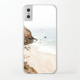 Malibu California Beach Clear iPhone Case