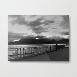 SEA LANDSCAPE IN ITALY Metal Print