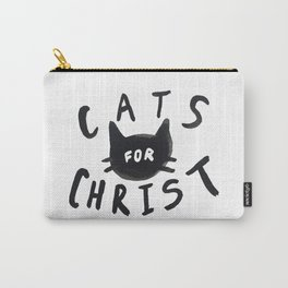 Cats for Christ Carry-All Pouch