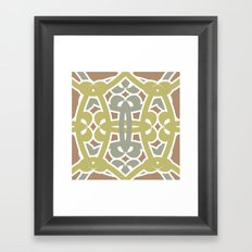 Pattern Print Edition 1 No. 3 Framed Art Print