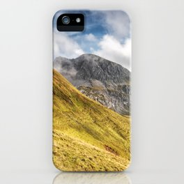 Mountain beauty iPhone Case