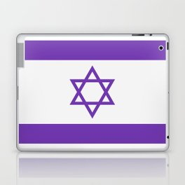 israel flag Laptop & iPad Skin