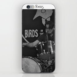 Birds in the Boneyard, Print 19: Teo Rocks! iPhone Skin