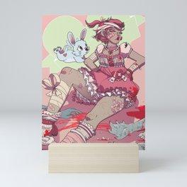Magical Brawler Mini Art Print
