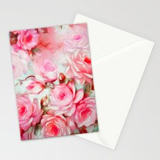 Shabby Chic Pink Stationery Cards
