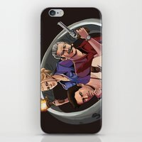 uncharted iPhone & iPod Skins featuring Dreamers of the Day by Sketchy-Nic