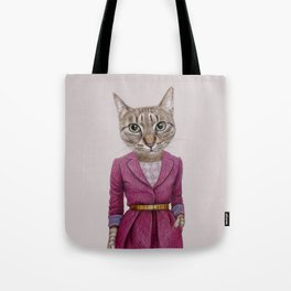 cat Mrs Tote Bag