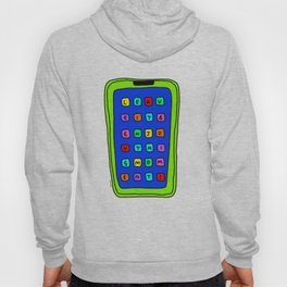 Leave It Enjoy This Moment! - bright colors colorful illustration Hoody