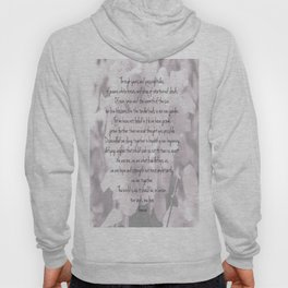 Through years and passing tides Hoody