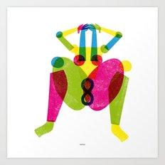 INFINITY WOMAN Art Print