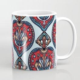 Boho flower mandala vector all over print. Coffee Mug