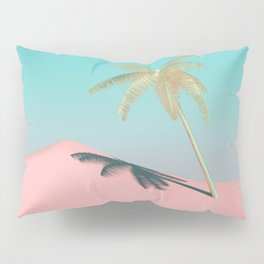 Palm Tree Oasis Pillow Sham