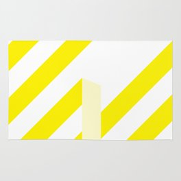 Yellow Stripes Rug
