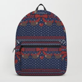 A Lazy Winter Sweater Backpack