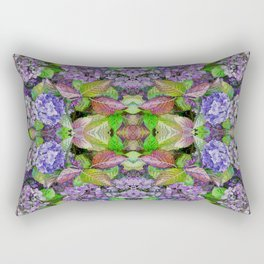AUTUMN HYDRANGEA MANDALA Rectangular Pillow