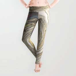 Canals in old Amsterdam Leggings