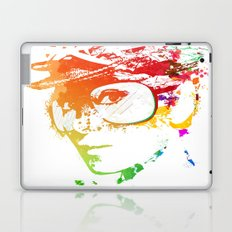 Audrey splash Laptop & iPad Skin