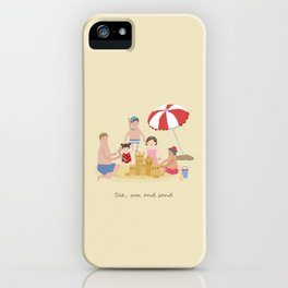 Sea, Sun and Sand iPhone Case