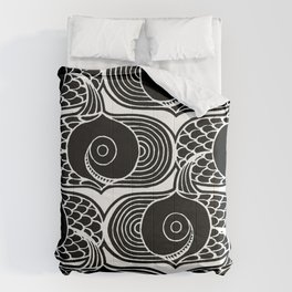 Gone Fishin (panel) Comforters