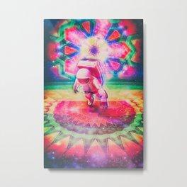 Psychedelic Astronaut Metal Print