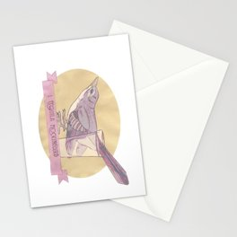 Literary drinks: Tequila Mockingbird Stationery Cards