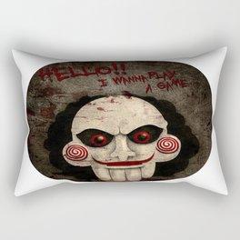 Jigsaw Pops Up Rectangular Pillow