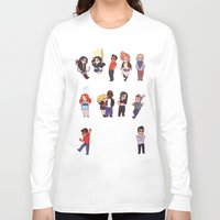 teen wolf Long Sleeve T-shirts featuring Teen Wolf! by Madeoftin
