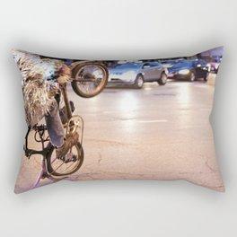 Performance Art on the Streets of Bucktown, Chicago 01 Rectangular Pillow