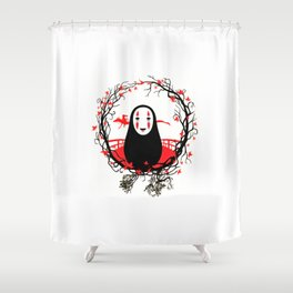 Evil Without Face Shower Curtain