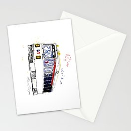 Septa Trolley Art: Philly Public Transportation Stationery Cards