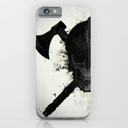 Viking Skull iPhone Case