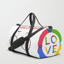 VeLover – Racer – June 12th – 200th Birthday of the Bicycle Duffle Bag
