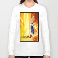 dragonball z Long Sleeve T-shirts featuring Vegeta Dragonball Z best idea by customgift