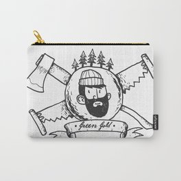 Lumberjack Carry-All Pouch