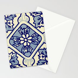 TALAVERA MEXICAN TILE IN BLU BIG Stationery Cards