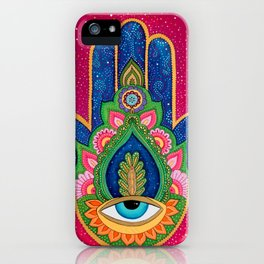 Fatima's hand / Hamsa iPhone Case