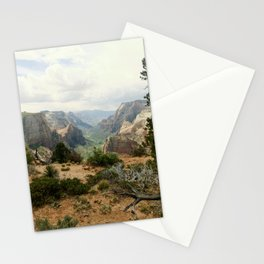 Above Zion Canyon Stationery Cards
