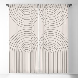 Arch Art Blackout Curtain