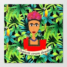 la Frida Canvas Print