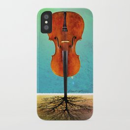 Rooted sound. iPhone Case
