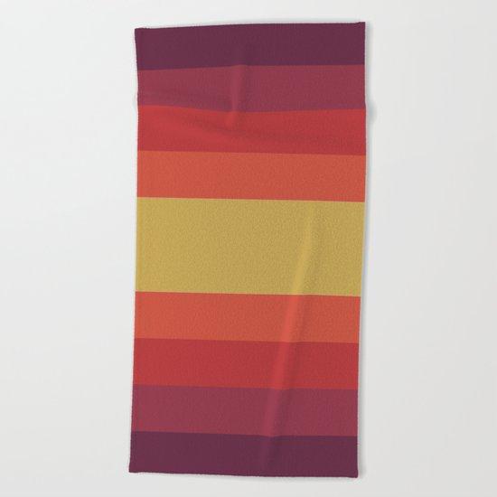 Retro 70's Beach Towel