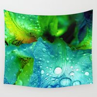 splash Wall Tapestries featuring Splash by Stephanie Koehl