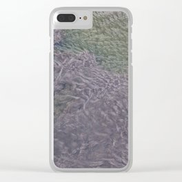 Water Currents Clear iPhone Case