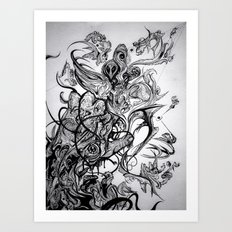 Higher Art Print