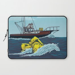Jaws: Orca Illustration Laptop Sleeve