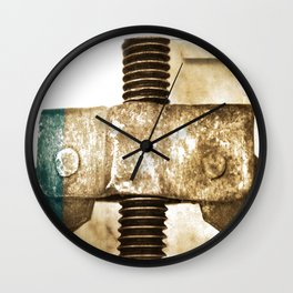 Stuck Wall Clock