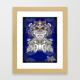 Faces Of the Psyche Framed Art Print