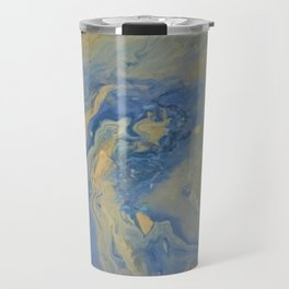 copper wave Travel Mug