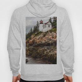 Bass Harbor Lighthouse - Acadia National Park Hoody