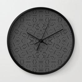 2805 DL pattern 2 Wall Clock